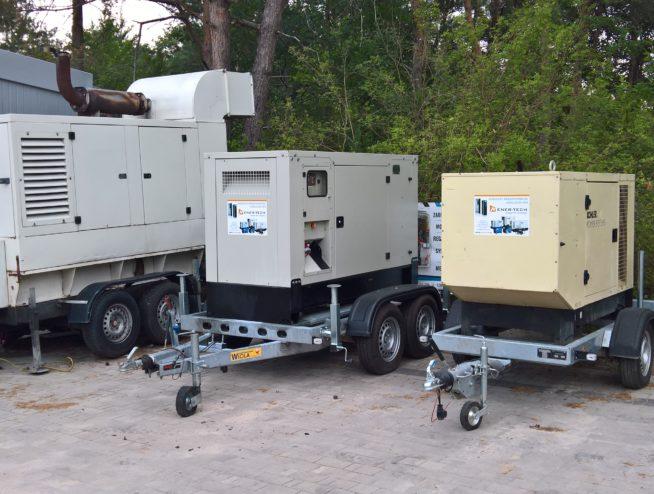 agregaty prądotwórcze na wynajem Kielce
